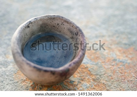 Simple Pure Water Element in primitive vessel. #1491362006