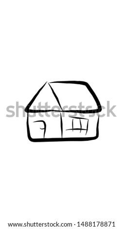simple sketch icon. sketch design.