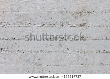 Simple striped gray concrete wall background