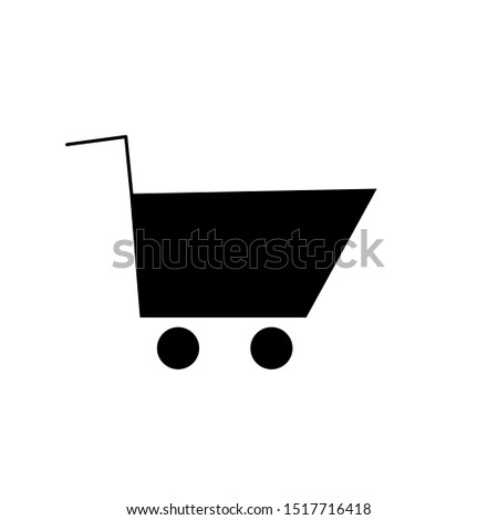 Simple Trolly Icon for Business