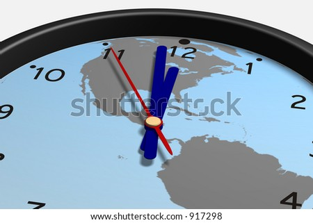 Simple virtual clock