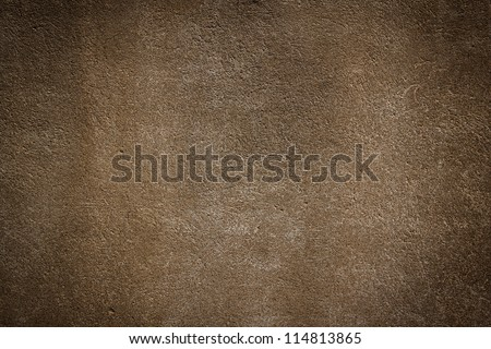 Simple wall brown stone texture background