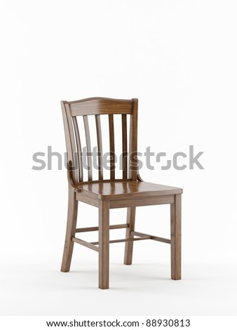 Simple Wooden Chair