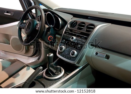 Simple Yet Stylish and Balanced Interior of a Modern Japan Car #12152818