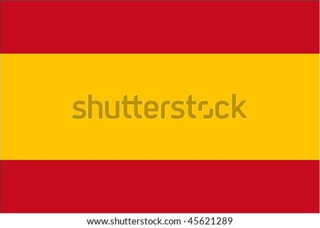 simplified Spain flag (useful for small icons - Spanish language)