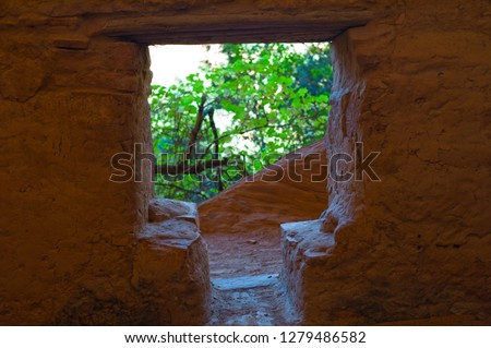 Sinaguan Indian ruins in Northern Arizona