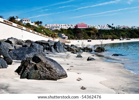 Sines beach, Portugal landscape - stock photo