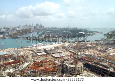 Singapore city construction