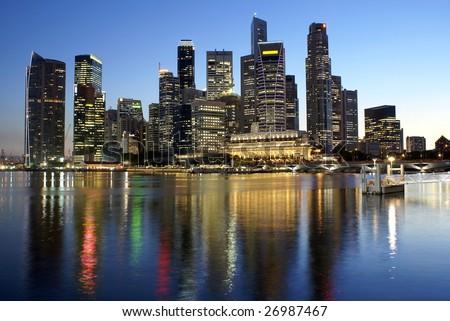 Singapore skyline quotes
