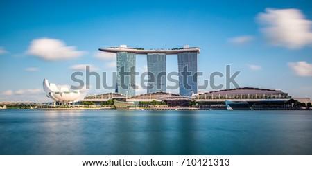 Singapore Cityscape, Marina Bay