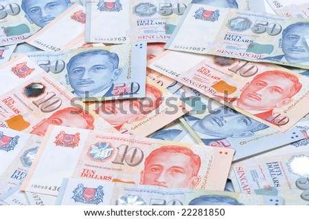 Singapore Dollar Picture on Currency With Map Singapore Currency Singapore Find Similar Images