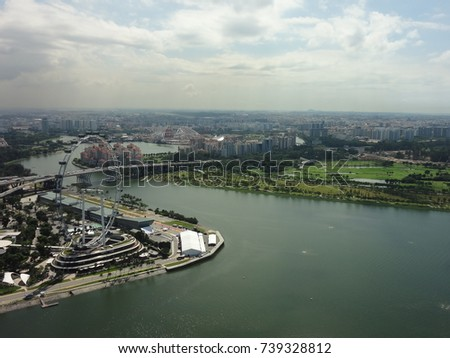 Singapore Flyer #739328812
