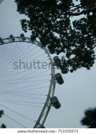 Singapore Flyer in Singapore #753350971