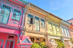 Singapore, Historical buildings in Joo Chiat Road district