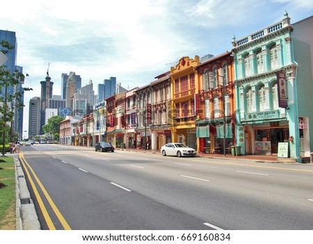 singapore   may 9  city street...