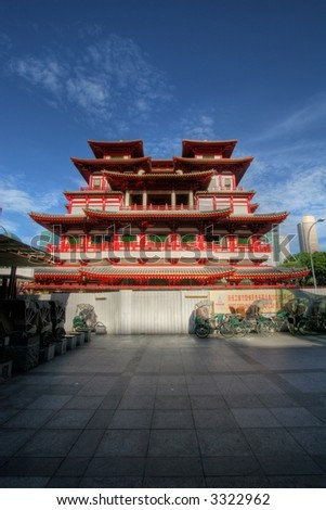 Singapore's Buddha Tooth Relic Temple at Sago Street