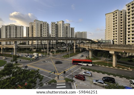 Singapore - Seng Kang New Town