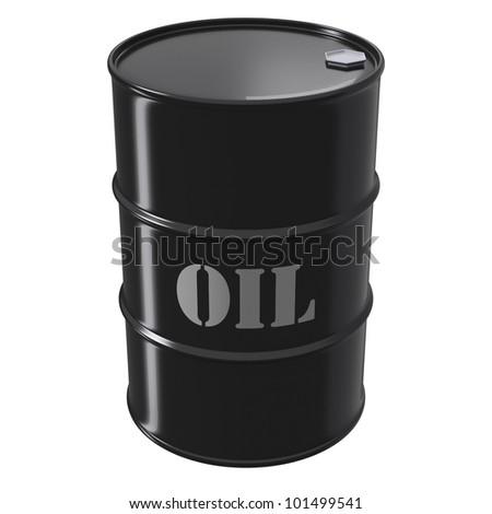 Singe Black Oil Barrel As An Icon Of Petroleum Wealth ...  Singe Black Oil...