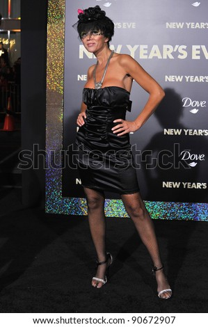 "Singer/actress Nadeea at the world premiere of ""New Year's Eve"" at Grauman's Chinese Theatre, Hollywood. December 5, 2011  Los Angeles, CA Picture: Paul Smith / Featureflash"