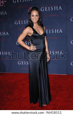 Singer ALICIA KEYS at the Los Angeles premiere of Memoirs of a Geisha. December 4, 2005  Los Angeles, CA.  2005 Paul Smith / Featureflash