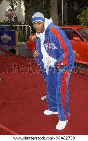 Singer HOUSTON at the world premiere of 2 Fast 2 Furious at the Universal Amphitheatre, Hollywood. June 3, 2003