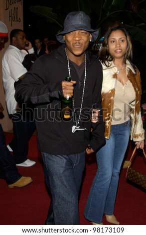 Singer JA RULE at pre-Grammy party given by Clive Davis of J Records at the Beverly Hills Hotel. 25FEB2002   Paul Smith / Featureflash - stock photo