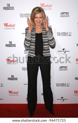 Singer OLIVIA NEWTON-JOHN at the world premiere, in Los Angeles, of The Producers. December 12, 2005 Los Angeles, CA.  2005 Paul Smith / Featureflash