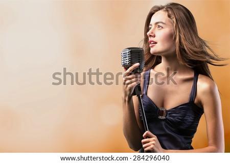 Singer, stage, talent.