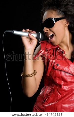 Singing Black Girl