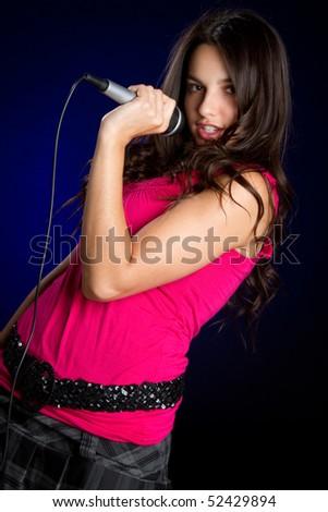 Singing Teen Girl