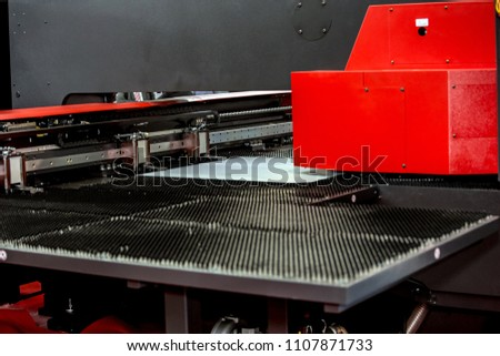 Single AC servo drive turret punch presses