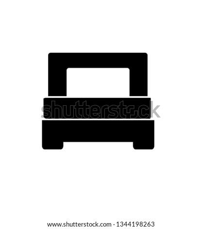 Single Bed Single Icon