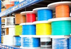 Single core wire warehouse - Italian industry