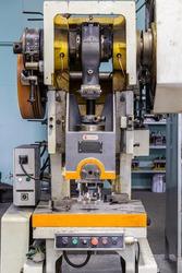 Single Crank Mechanical Punch Press Machine, Eccentric Press
