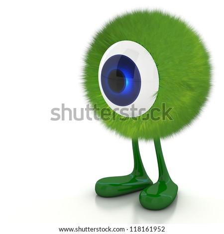 Single eye monster