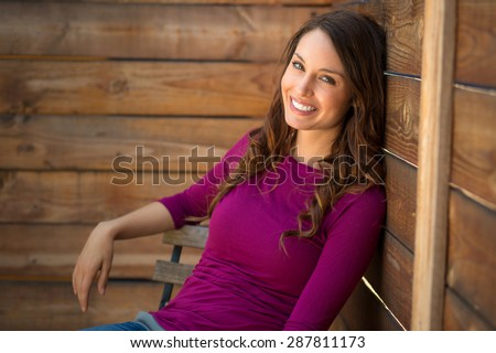 Shutterstock Single girl dating profile photo example commercial look young beautiful