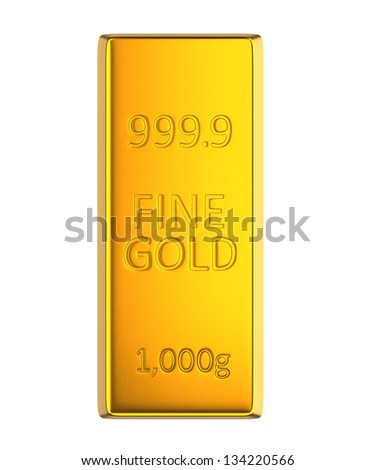 single gold bar