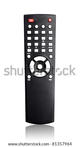 Single infrared universal remote control for media center.