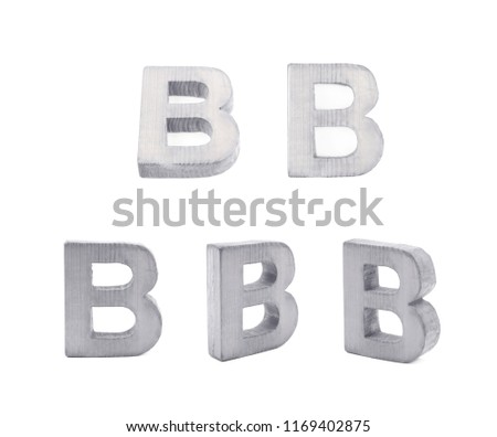 Wooden alphabet block, letter B Images and Stock Photos