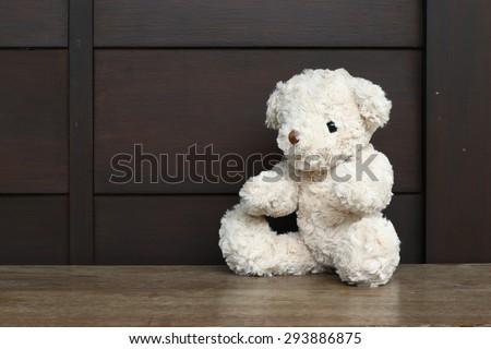 Single teddy bear.