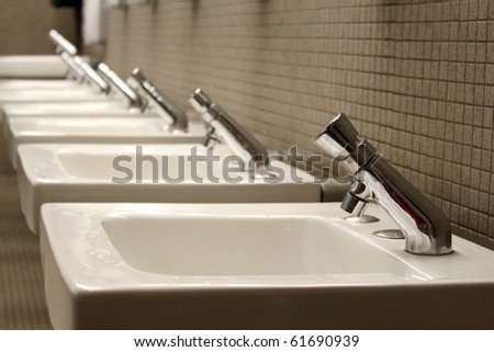 Sinks - stock photo