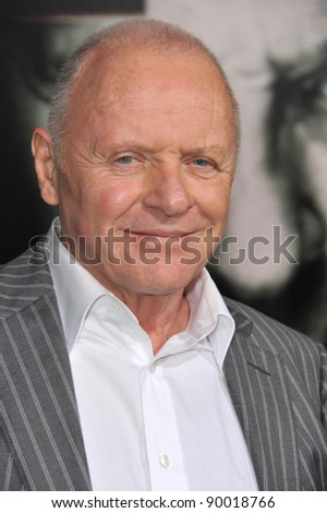 "Sir Anthony Hopkins at the world premiere of his new movie ""The Rite"" at Grauman's Chinese Theatre, Hollywood. January 26, 2011  Los Angeles, CA Picture: Paul Smith / Featureflash"