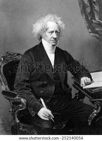 Sir John Frederick William Herschel (1792-1871) Stock fotó ©