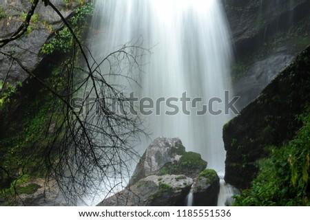 Siribhume Waterfall at Doi Inthanon. #1185551536