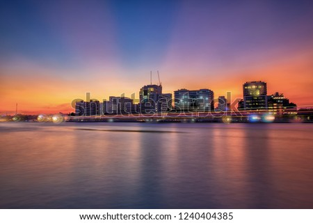 Siriraj Hospital, A major government hospital situated by the Chao Phraya River in Bangkok, Thailand.