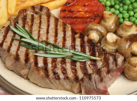 Sirloin Steak & Fries 04/12