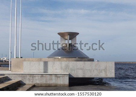 Site of the Olympic Flame, Pirita, Estonia