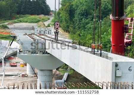 site of under construction Bridge