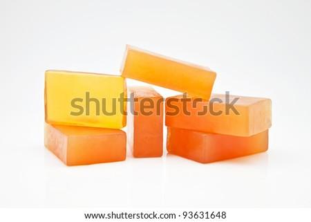 six bars of glycerin soap