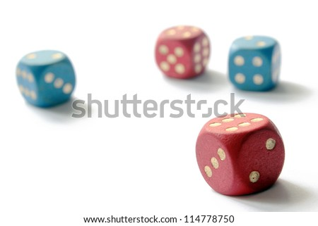 Six-sided dice